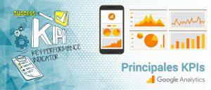 principales KPIs SEO de G. Analytics