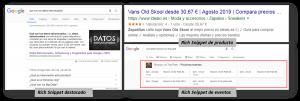 Tipos de Rich Snippets en Google