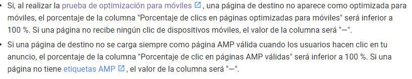 texto amp