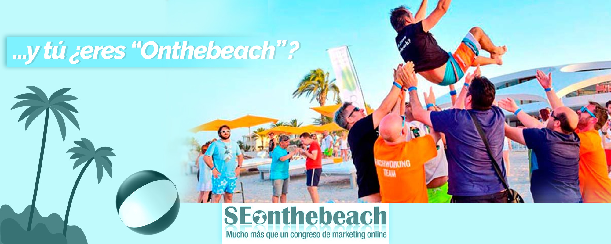 BANNER SEO ON THE BEACH