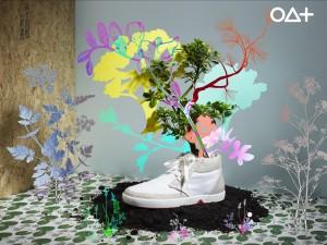 Zapatillas OAT biodegradables